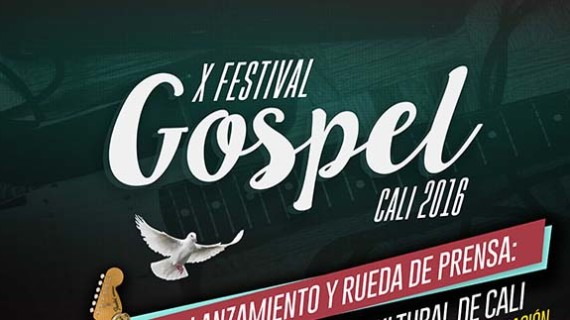 Lanzamiento del X Festival Góspel Cali 2016