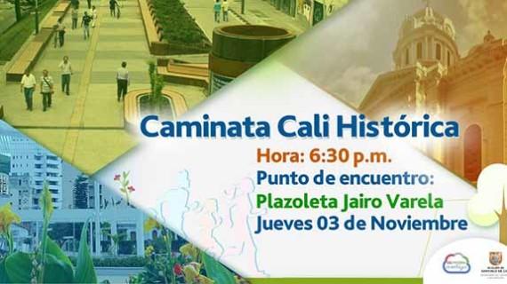 Caminata Cali Histórica, una combinación entre apropiación de nuestra ciudad y actividad física