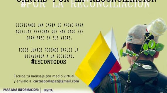 Cartas por la reconciliación en Colombia… Hora de escribirle a los desmovilizados