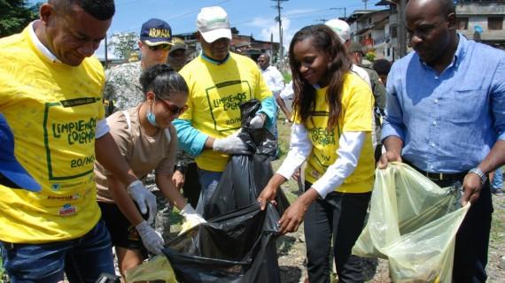Con éxito se desarrolló jornada de limpieza en Buenaventura