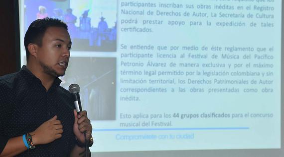 Finalizan socializaciones del 'Petronio Álvarez'.