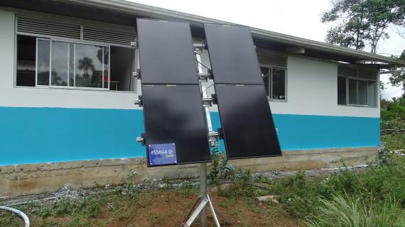 DIRECTV transforma escuelas rurales con la instalación de paneles solares