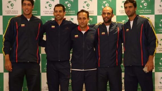 Colombia enfrenta un nuevo reto en Copa Davis