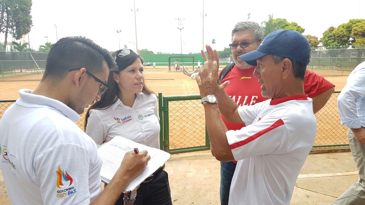 Coldeportes visitó sedes de la Final Nacional de los Juegos Supérate en Cali y Palmira