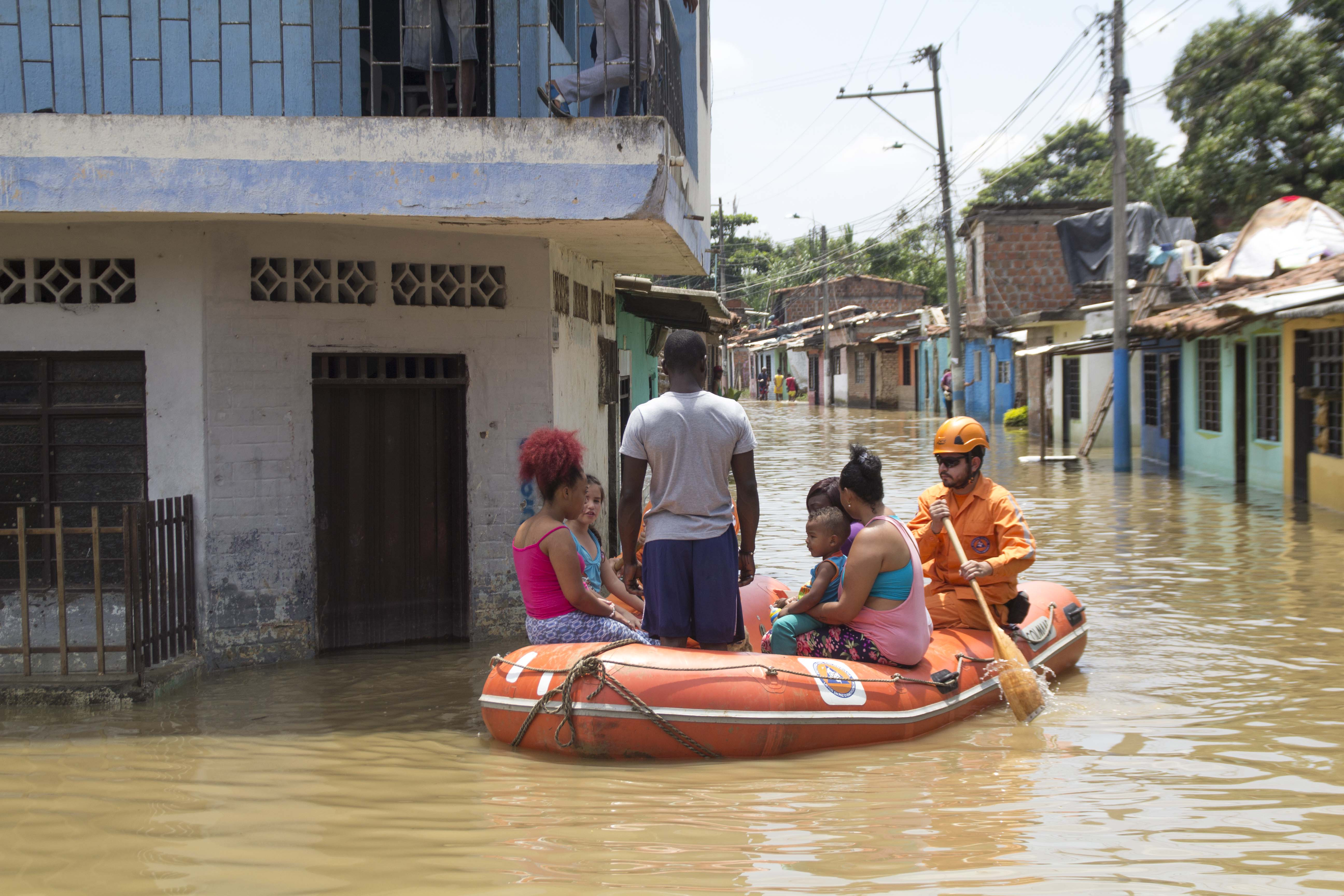 Inundacion rio cauca puerto nuevo 93