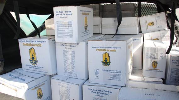 Intensifican entrega de ayudas humanitarias a damnificados por lluvias en el Valle