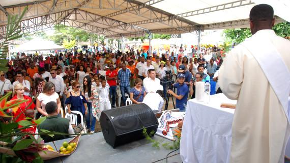 Con una misa incultarada se conmemoró el día de la Afrovallecaucanidad en Jamundí