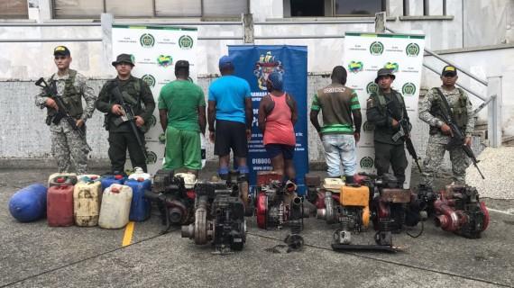 Desarticulada red de minería ilegal en Buenaventura