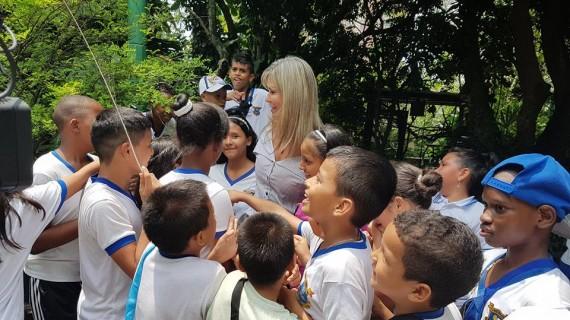 'Conoce tu Valle del Cauca' llevó a niños de Cali al Zoológico