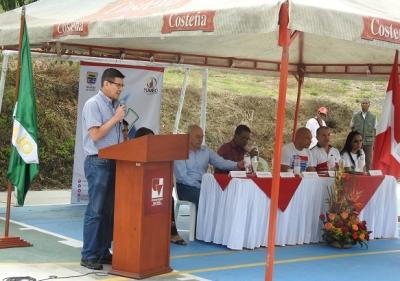 Sede Yumbo de Univalle inaugura instalaciones deportivas