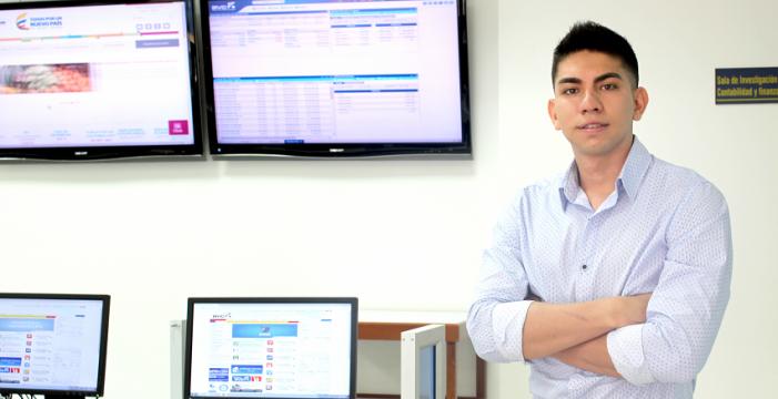 Economista javeriano obtuvo beca para estudiar máster en la Universidad de Alicante