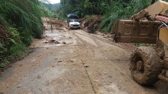 Secretaría de Infraestructura del Valle realiza diagnóstico de afectaciones por ola invernal