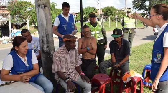 Alcaldía de Cali adelanta estrategia piloto de atención al habitante de la calle del sector de Centenario