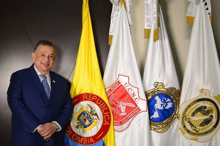 Alvaro Rojas Charry VI congreso nacional del notariado colombiano