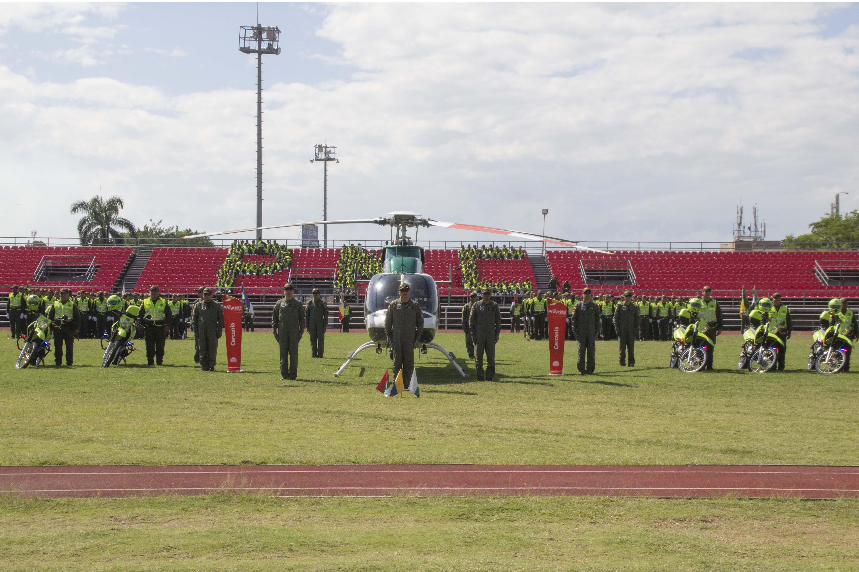 Entrega oficial Helicoptero Policia 05