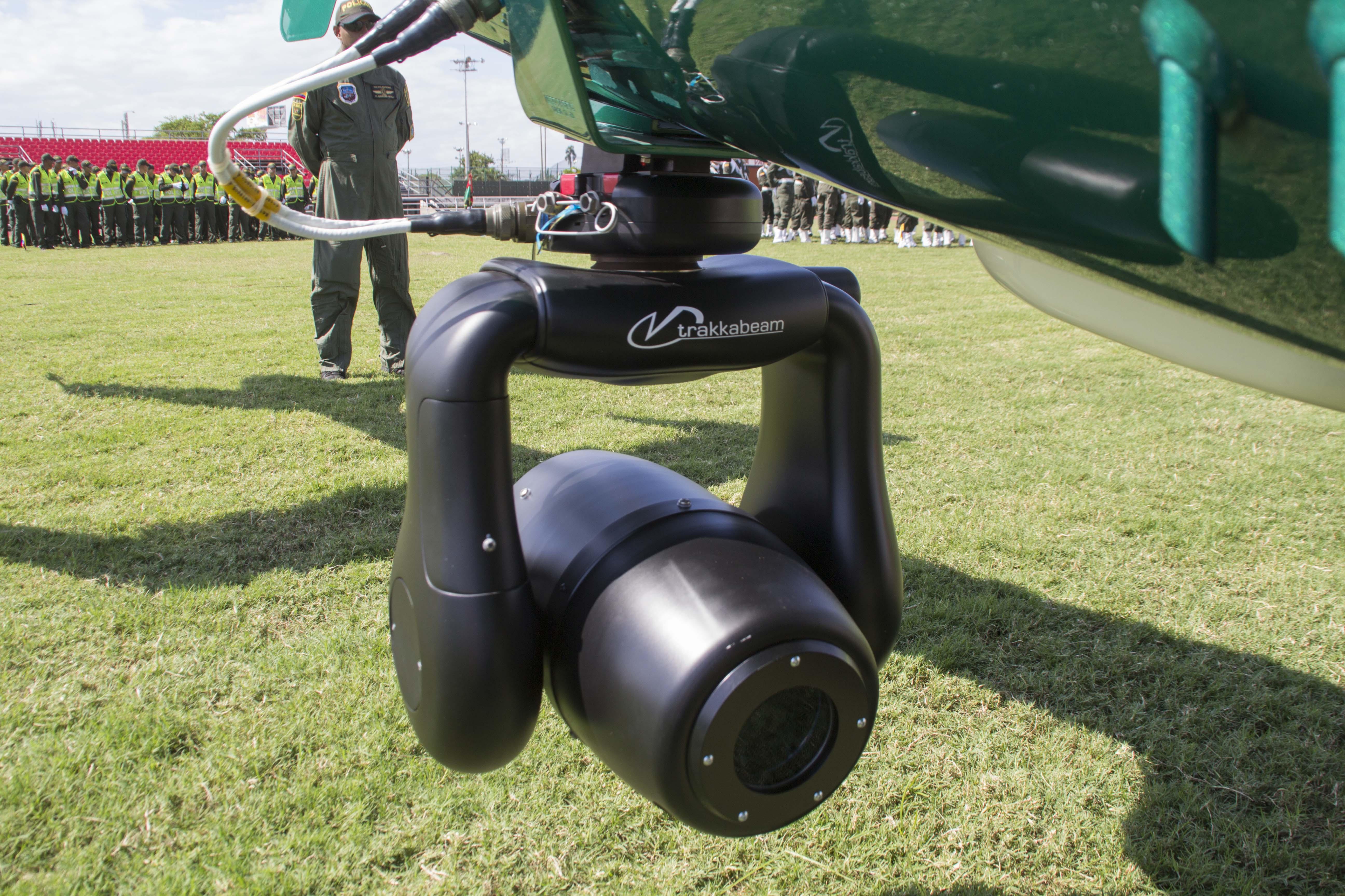Entrega oficial Helicoptero Policia 40