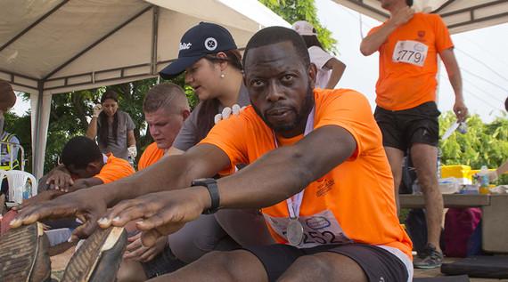 Jornadas de acondicionamiento físico para los participantes de la carrera 5K del 23 de julio