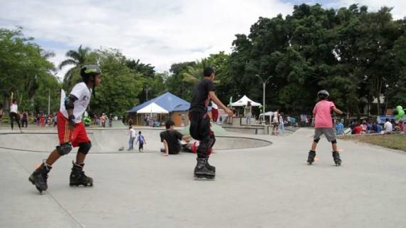 Se inauguró Skate Park en Ciudad Córdoba
