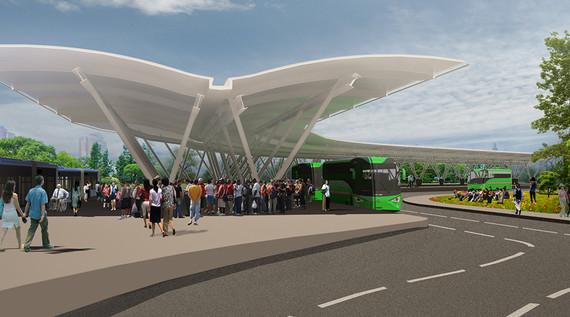 Terminal Sur del MIO, una obra para el progreso de Cali