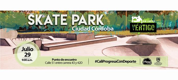 Este sábado, gran inauguración del skatepark Ciudad Córdoba