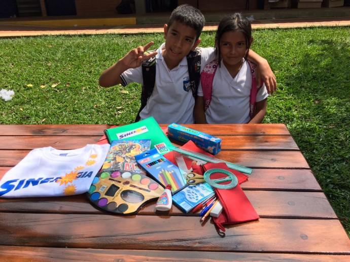 Foto Campo de verano Sinergia en el Colegio Bolivar