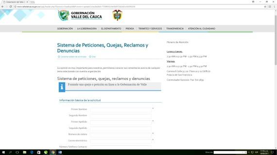 Botón de Denuncia Segura para que el ciudadano reporte casos de corrupción