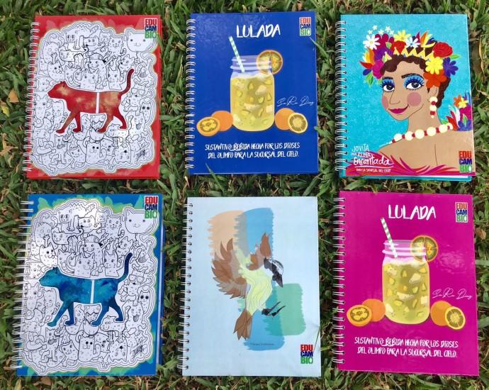 Cuadernos a la venta
