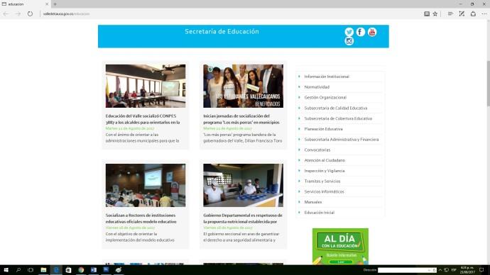 Mejoran condiciones de trámites vía web para usuarios de la Secretaría de Educación