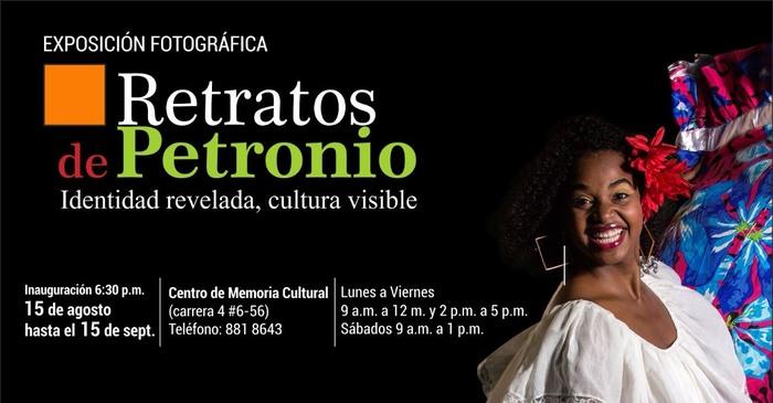 'Retratos de Petronio' en el Centro de Memoria Cultural