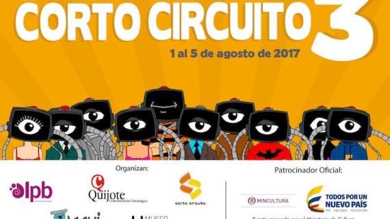 """Festival de cortos latinos """"Corto circuito 3"""" en La Tertulia"""