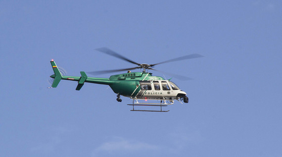Helicóptero de la Policía apoyará operativos de seguridad en Cali