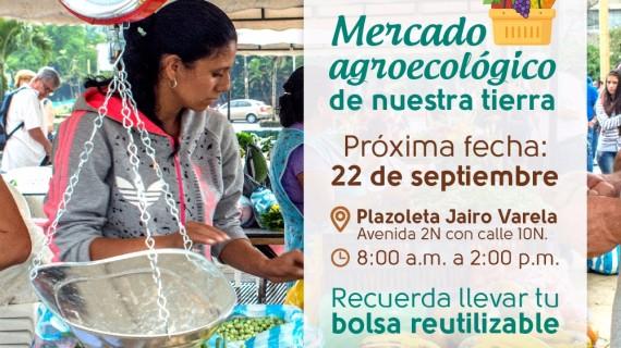 Mercado agroecológico el viernes 22 de septiembre