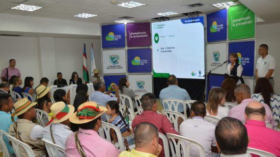 Mesa de concertación con comunidades indígenas del Valle