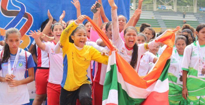 Valle campeón nacional de fútbol y voleibol femenino en Intercolegiados