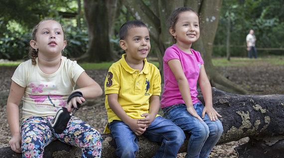 Los niños, los futuros conservadores del medio ambiente