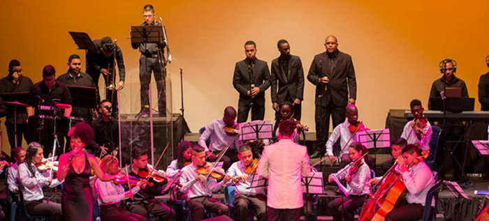 Gracias totales, concierto Somos Pacífico y jóvenes de Potrero Grande