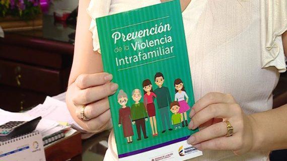 Cartillas que instruirán en la prevención de violencia intrafamiliar