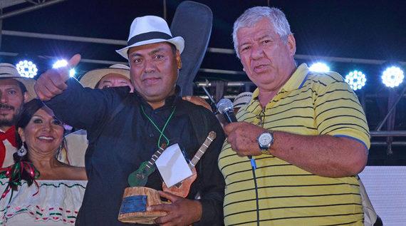 Los Hermanos Castañeda y Andrés Pasos, ganadores del Festival de Música Campesina