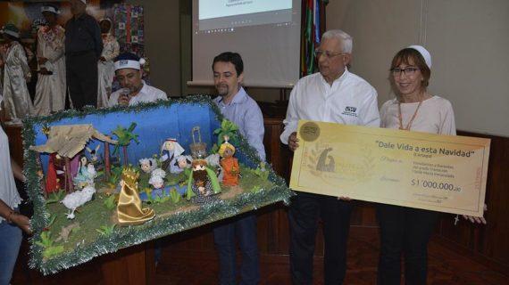 CVC premió los mejores pesebres y villancicos ambientales