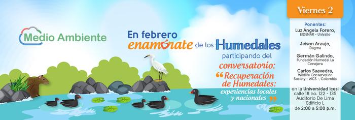 Conversatorio para celebrar Día Mundial de los Humedales
