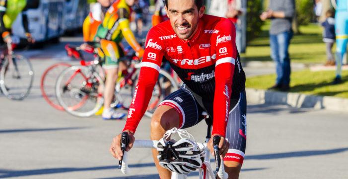 El ciclista español Alberto Contador estará por primera vez en el Valle