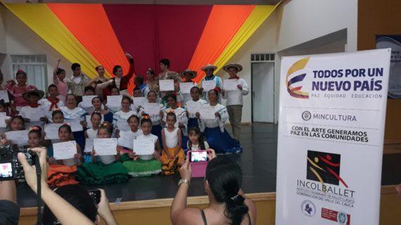 Incolballet prepara la segunda fase de 'Arte para la paz'