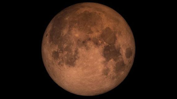 Eclipse lunar este 31 de Enero