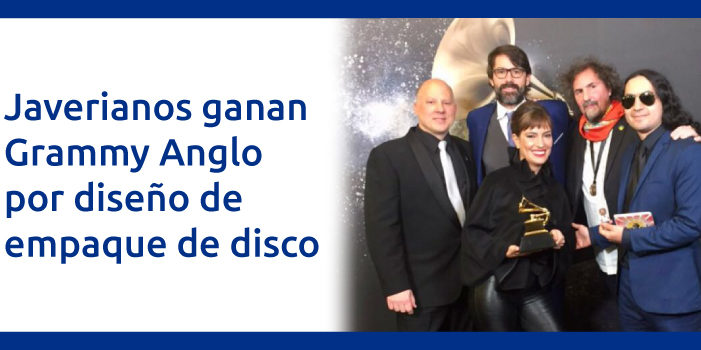 Profesor javeriano gana segundo premio Grammy Awards