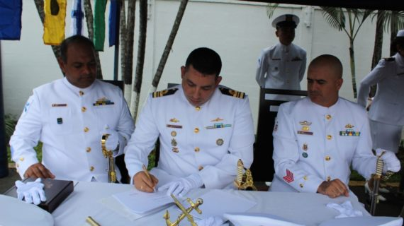 Las incorporaciones en la Armada Nacional en Cali tienen nuevo comandante