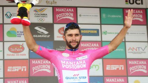 Fernando Gaviria pica en punta en la primera etapa de Oro y Paz en Palmira