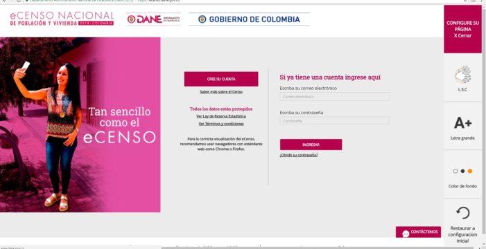 Ya 17.774 hogares vallecaucanos han sido censados electrónicamente