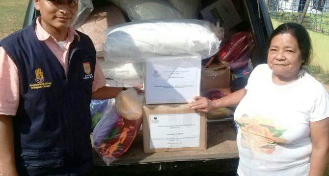 Entregan asistencia humanitaria en Siloé