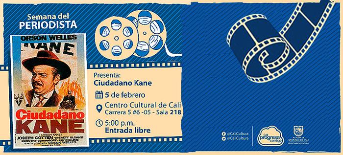 Semana de homenaje a los periodistas colombianos en la Sala Audiovisual de Cali