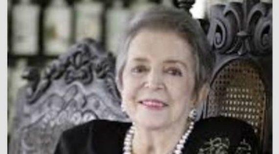 La Alcaldía de Cali lamenta el fallecimiento de Soffy Arboleda, cofundadora del Museo La Tertulia